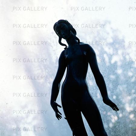 Skulptur i Rottneros trädgård, Värmland