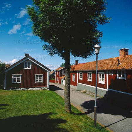 Båtsmanshus i Öregrund, Uppland