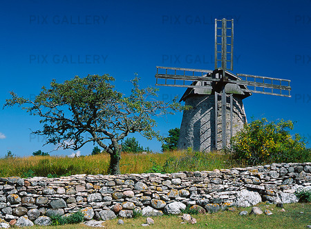 Väderkvarn, Gotland