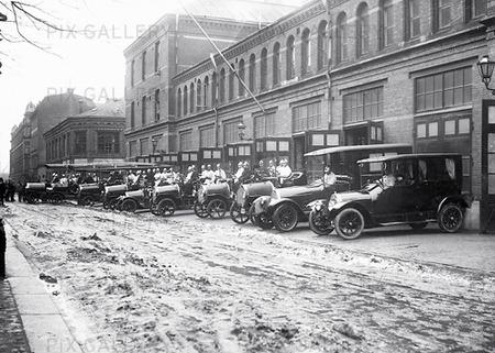 Huvudbrandstation, Göteborg 1935
