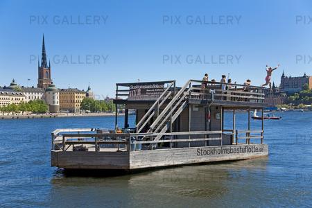 Badflotte i Stockholm