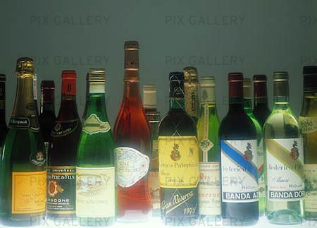 Vinflaskor