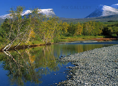 Lapporten i Abisko, Lappland