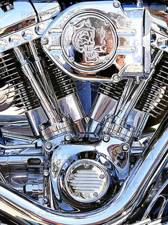 Motorcykeldetalj