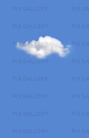Ensamt moln