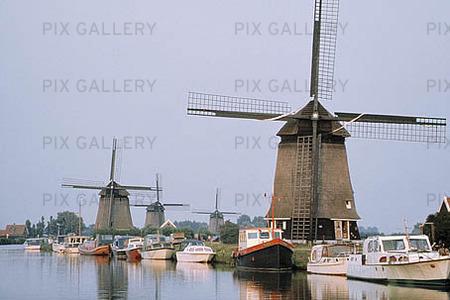Väderkvarnar, Nederländerna