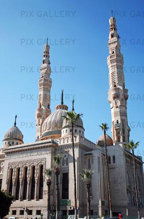 El-mogamma moskén i Port Said, Egypten