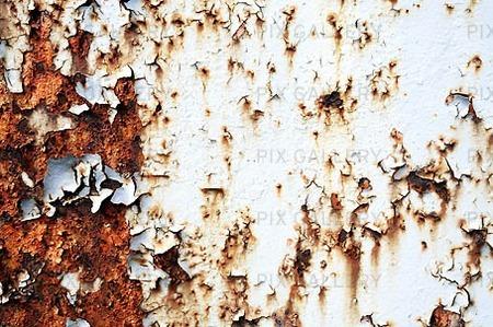 Rostig vägg