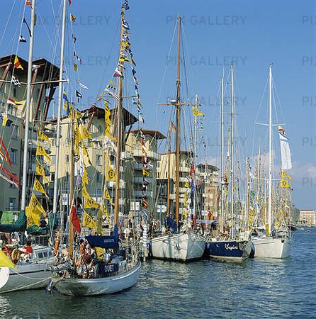 Båtar vid Norra Älvstranden, Göteborg