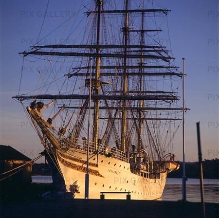 Segelfartyg i Kristiansand, Norge