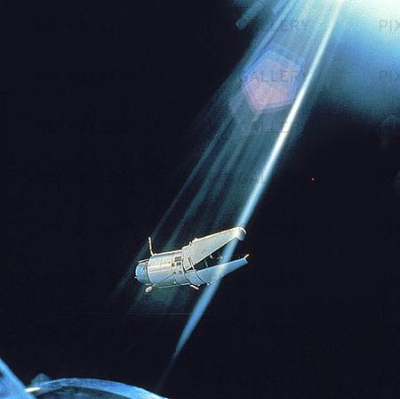 Rymdfarkost i rymden