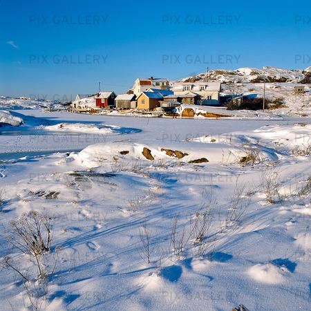Vinter på Björholmen, Bohuslän