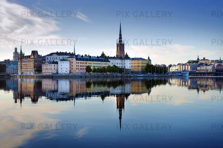 Riddarholmen, Stockholm tidigt på morgonen