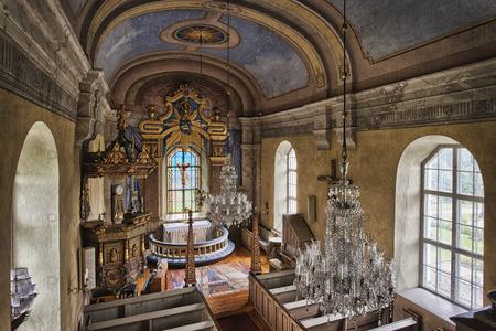 Kyrkosal  i Tynderö kyrka
