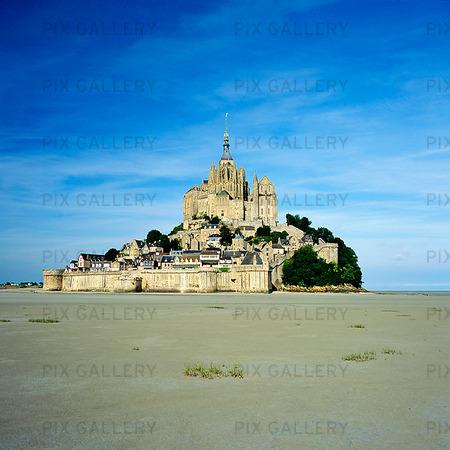 Mont St. Michel, Frankrike