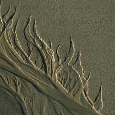 Mönster i sand