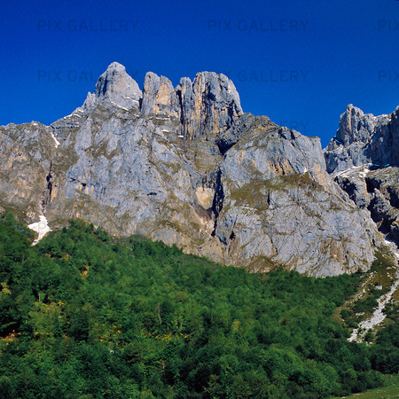 Picos de Europa, Spanien