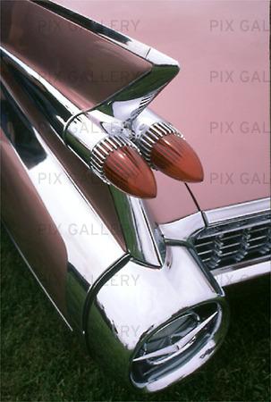 Baklampa på Cadillac