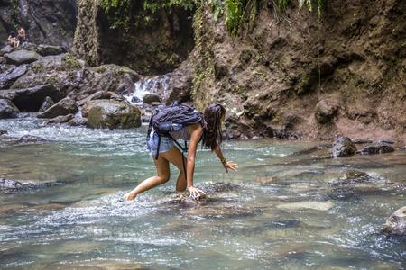 Kvinna i fors, Filippinernaa