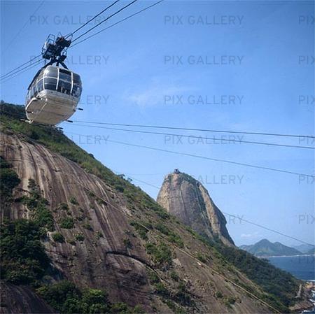 Sockertoppen i Rio de Janeiro, Brasilien