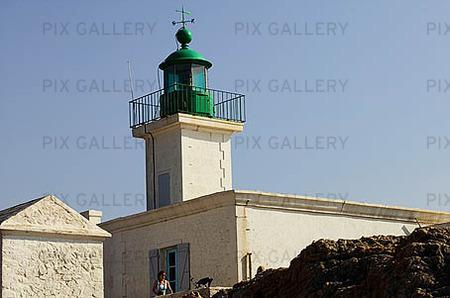 Fyr L'ile Rousse, Corsica
