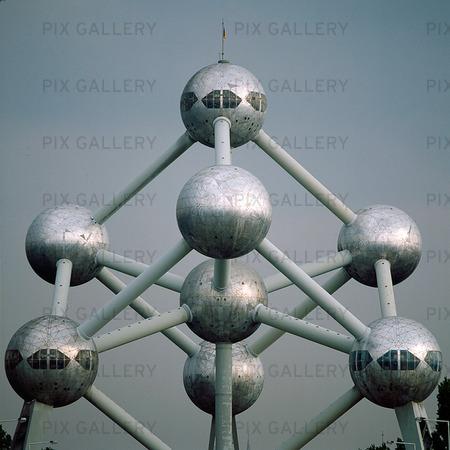 Atomium i Bryssel, Belgien