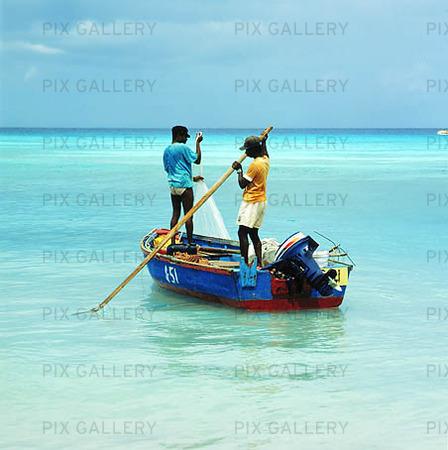 Fiskare på Barbados