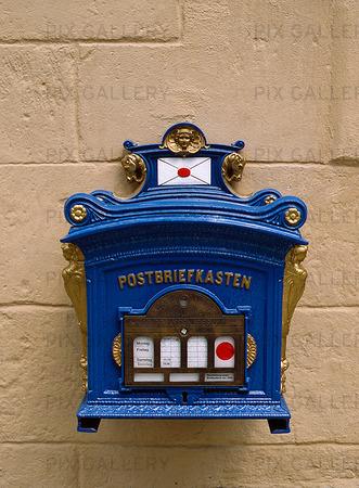 Brevlåda, Tyskland