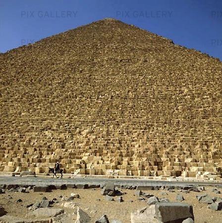 Pyramid vid Giza, Egypten
