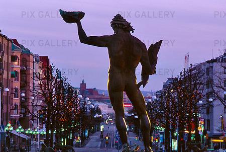 Poseidon vid Avenyn, Göteborg