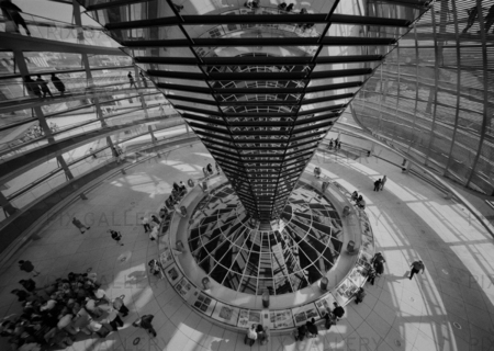 The Reichstag. Berlin. Tyskland.