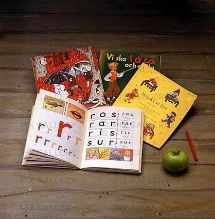 Äldre skolböcker