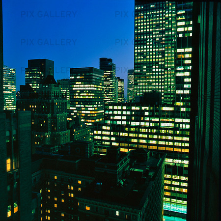 Manhattan i New York, USA