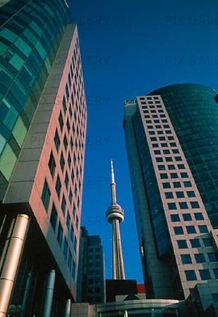 Skyskrapor i Toronto, Canada