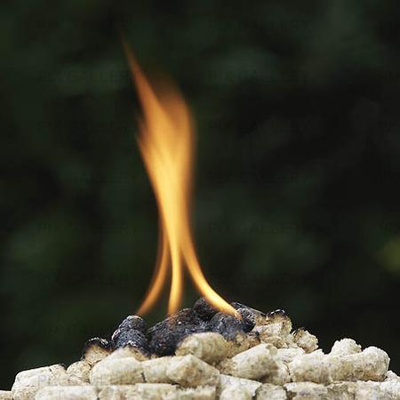 Heat Pellet burning