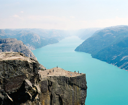 Klippan Preikestolen, Norge