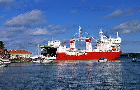 Fartyg för kärnkraftsavfall