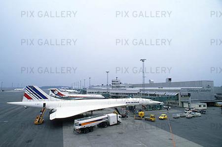 Concorde på Landvetter Flygplats