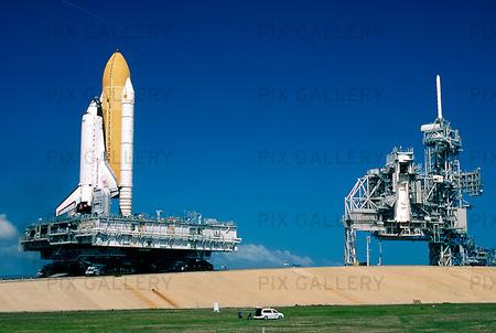 Rymdfärja, KSC-NASA, USA