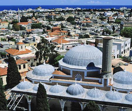 Gamla stan i Rhodos, Grekland