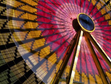 Pariserhjul i Lyon, Frankrike