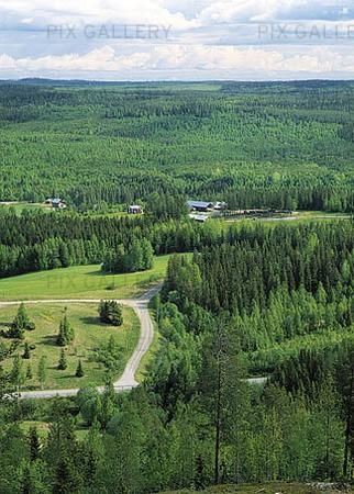 View at Angnäs, Västerbotten