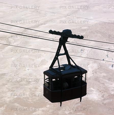 Ropeway to Masada, Israel