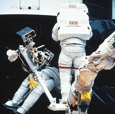 Astronauter i rymden
