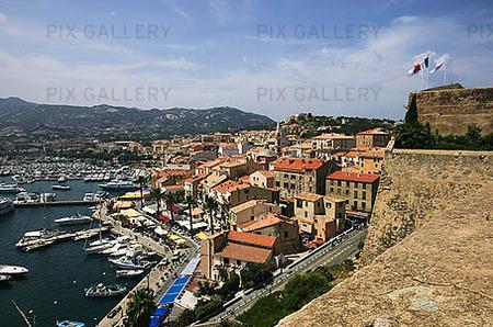 Calvi hamn, Korsika