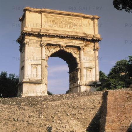 Forum Romanum i Rom, Italien