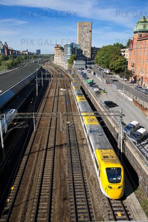 Tåg, Stockholm