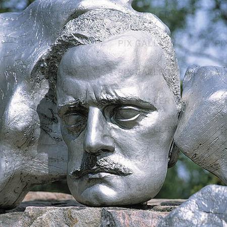 Monument i Helsingfors, Finland