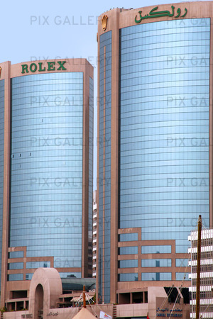Rolex Building in Dubai, United Arab Emirates