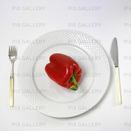 Peppers on the platter